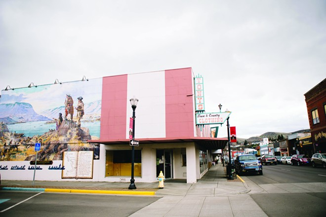 The Dalles - PHOTO/CHRISTINE DONG