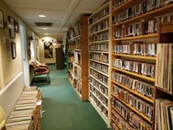 KRFP media library. Photo courtesy of Maree McHugh.