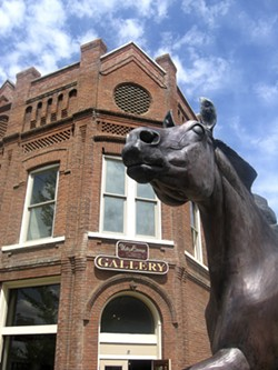 Wallowa features numerous art galleries and bronze foundries. - TRIBUNE/BRAD GARY