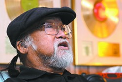 Grangeville resident Larry Ramos recounts how his career progressed from childhood with a ukulele, to gold and platinum records with the Association. - TRIBUNE/STEVE HANKS