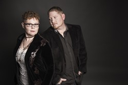 Husband-and-wife duo Carolyn Routh and Daniel Routh are two members of Nu-Blu.