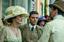 """From left: Charlotte Le Bon, Oscar Isaac and Christian Bale star in """"The Promise."""""""