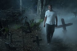 """This image released by Paramount Pictures shows Jason Clarke in a scene from """"Pet Sematary."""" (Kerry Hayes/Paramount Pictures via AP) - KERRY HAYES/PARAMOUNT PICTURES VIA AP"""