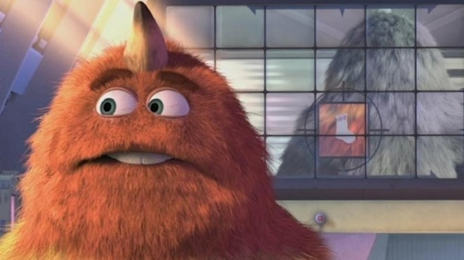 """CopyCat Cinema will be holding their contest of this scene from the """"Monsters Inc"""" from comicbook.com"""