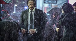 """This image released by Lionsgate shows Keanu Reeves in a scene from """"John Wick: Chapter 3 - Parabellum."""" (Niko Tavernise/Lionsgate via AP) - NIKO TAVERNISE/LIONSGATE VIA AP"""