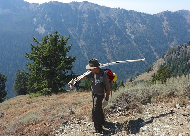 """John McCarthy, of Boise, collected the stories of five people who helped shape policies for how we live and work in protected wilderness in """"Working the Wilderness."""" - JOHN MCCARTHY"""