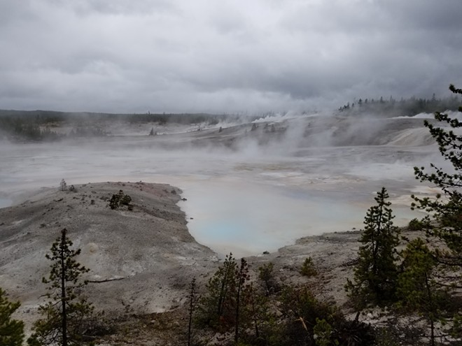 Norris Geyser Basin is the hottest, oldest, and most dynamic of Yellowstone's thermal areas.