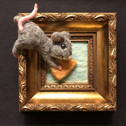 """The """"Tiny Art Show"""" opens June 20 at the 1912 Center in Moscow."""