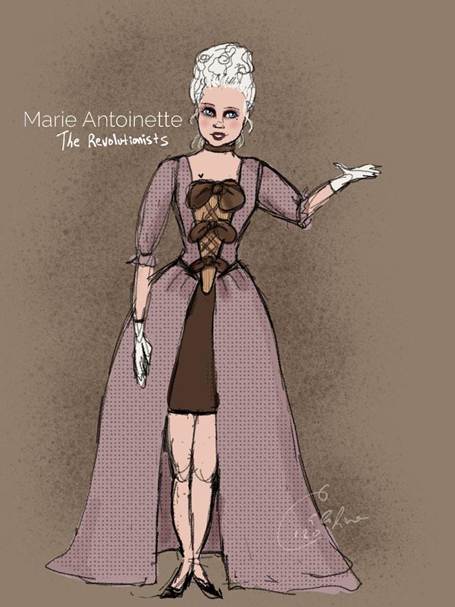 Marie Antoinette by Caroline Frias