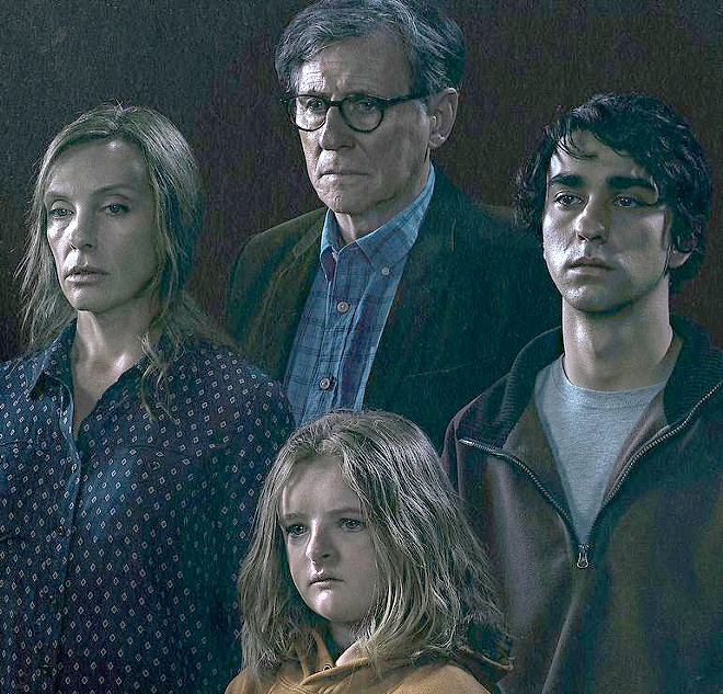"""The 2018 horror film """"Heredity"""" stars Toni Collette as a mother besieged by fears of a family curse."""