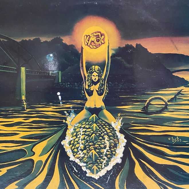 KMOK-FM in Lewiston sponsored the creation of this rock album in the 1980s for a national contest. It features local bands. We want to find out more about it.