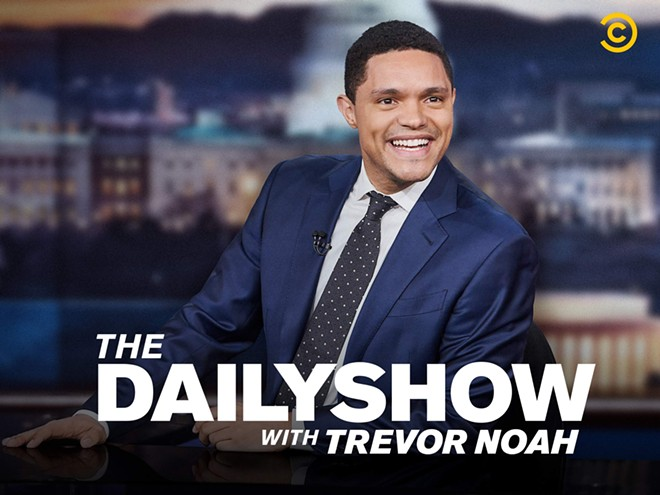 """Ted Tremper and Trevor Noah started at """"The Daily Show"""" on the same day in 2015."""