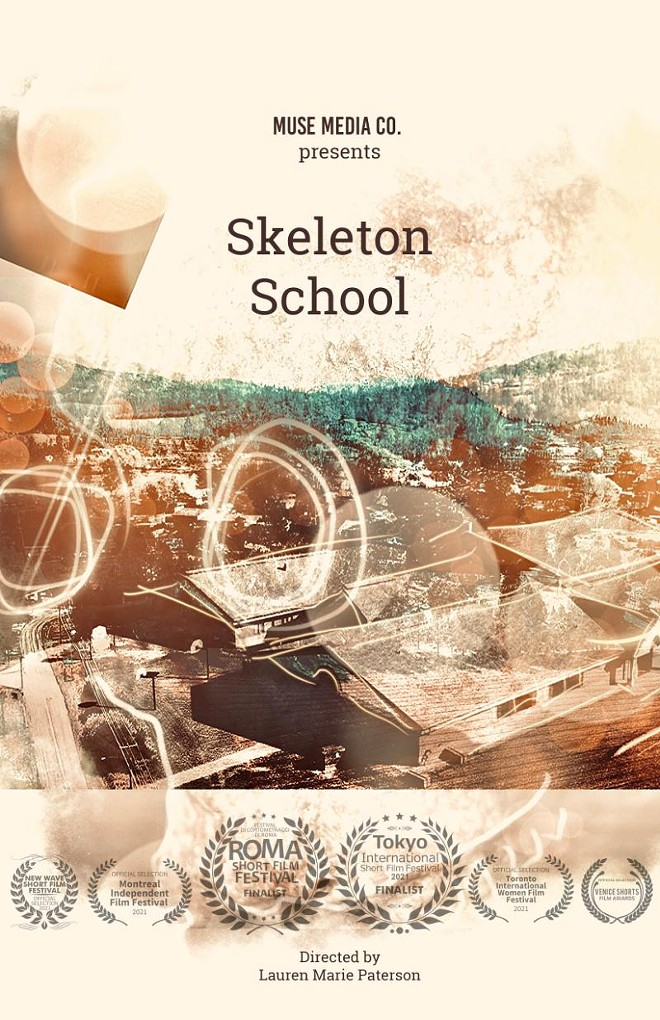 """Skeleton School"" Poster"