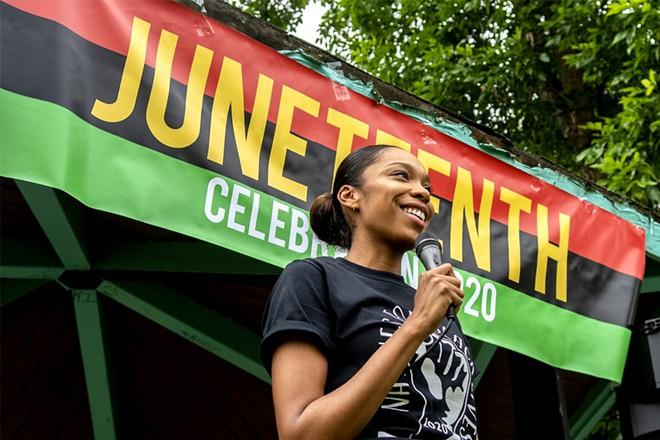 Last year's Juneteenth celebration
