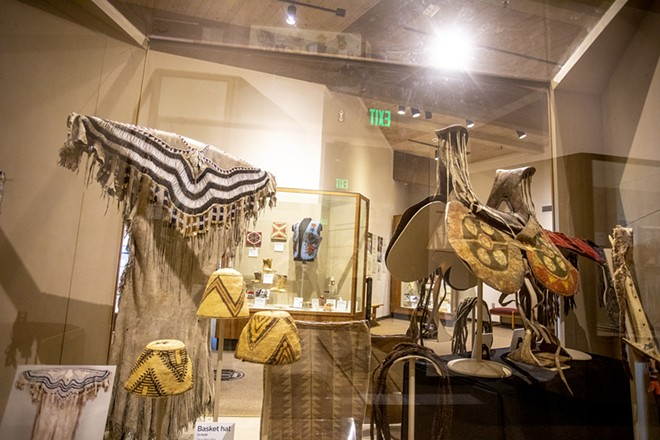 Items from the Spalding-Allen Collection are on full display at the Nez Perce National Historical Park in Spalding as part of a new exhibit leading up to a Nez Perce renaming celebration marking the 25th anniversary of their return. - AUGUST FRANK