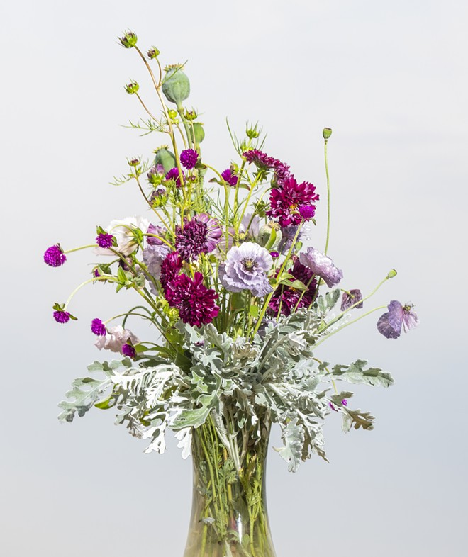 The finished bouquet. - ZACH WILKINSON / INLAND 360