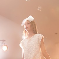 PHOTOS: Olive + Boone Custom Millinery Show 12-year-old Sydney Graczyk walks the runway. Young Kwak