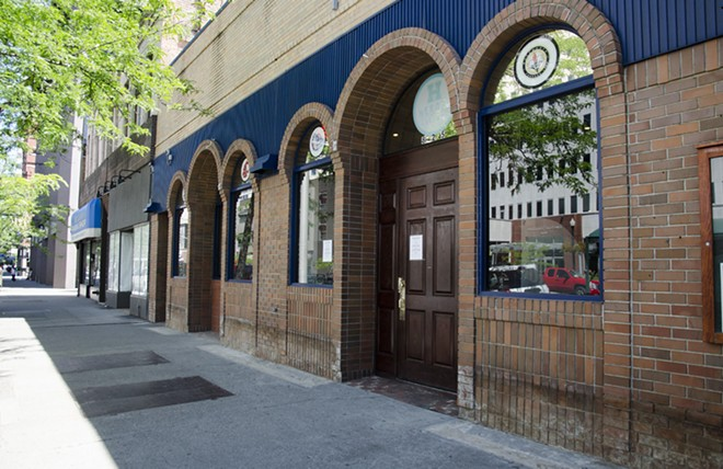 24 Taps has its liquor applications posted and will be opening soon in the former Sergio's spot. - LISA WAANANEN JONES