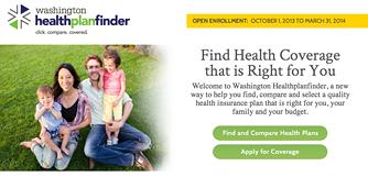 WASHINGTON HEALTHPLANFINDER