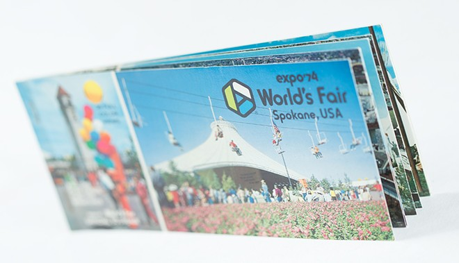 A book of Expo postcards. - YOUNG KWAK
