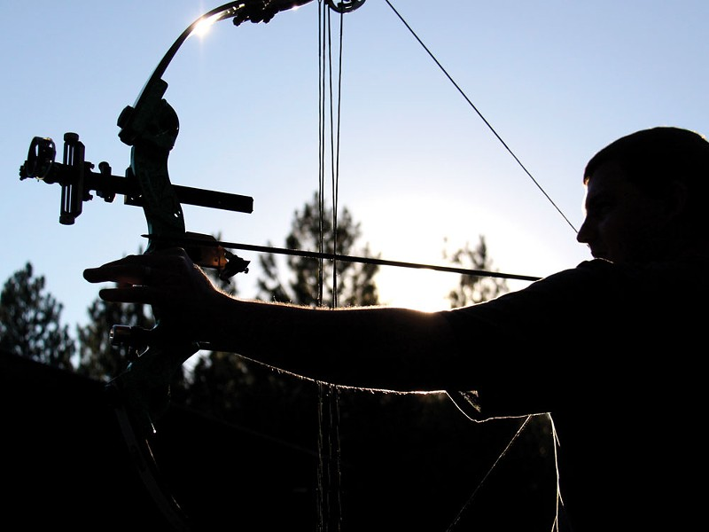 A bowman at Evergreen Archery Club - JOE PFLUEGER