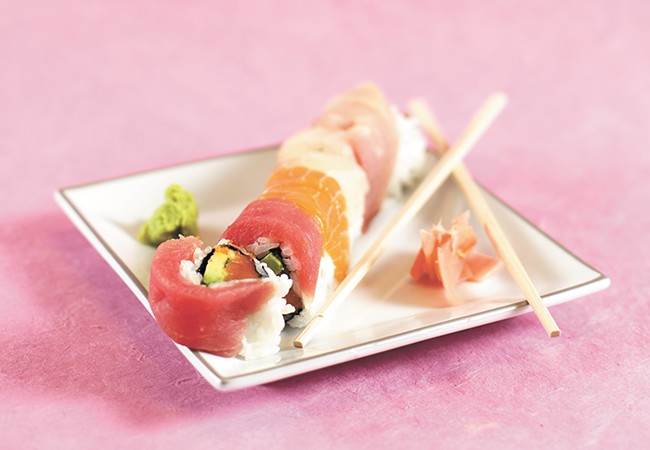 A Cougar Roll from Sushi.com. - YOUNG KWAK