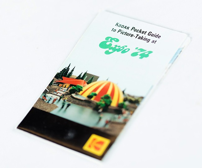 A Kodak guide for taking photos at Expo. - YOUNG KWAK