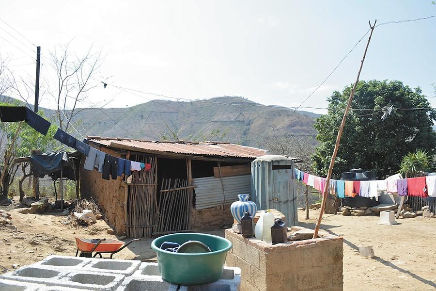 A mountain village near Zacapa, Guatemala. - CHRISTINE RUSHTON