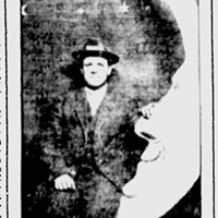 100 years ago, a paper moon portrait mystery