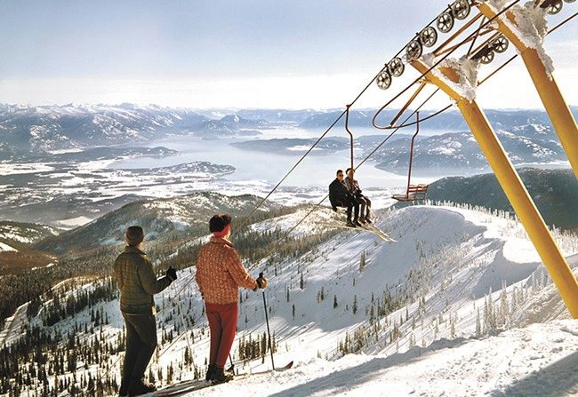 A photo of Schweitzer from its 1963 opening. - ROSS HALL/HALLANS GALLERY