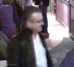A picture of Marc Fessler captured in a security camera
