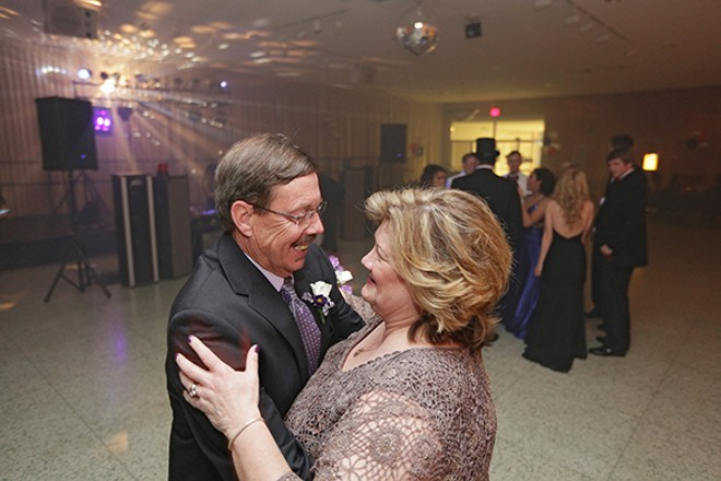 Dave and Barbara dance during prom. - YOUNG KWAK