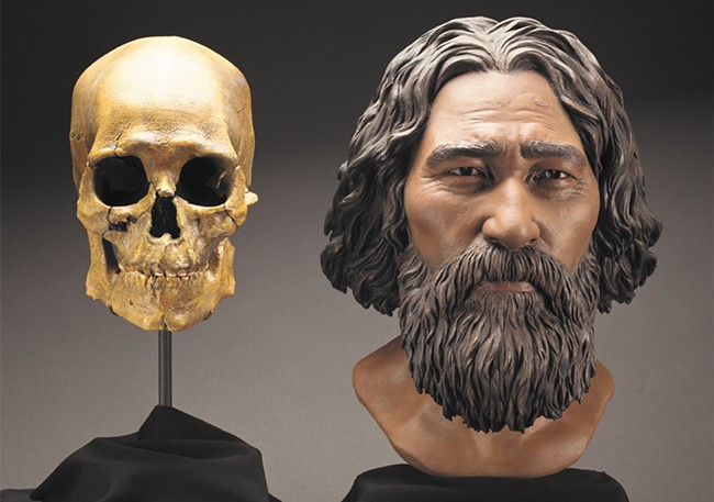 A recreation of the Kennewick Man. - SMITHSONIAN
