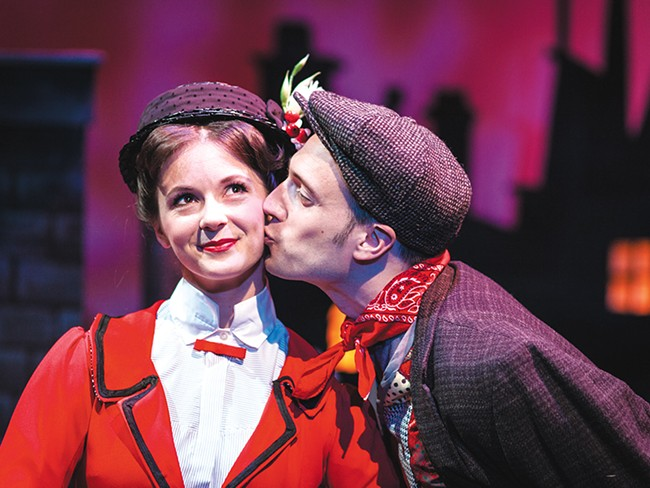 A scene from CDAST's Mary Poppins. - MIKE MCCALL