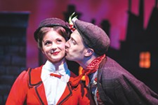 A scene from Mary Poppins, one of the last Coeur d'Alene Summer Theatre productions.