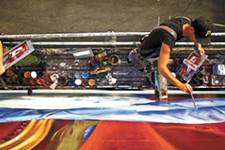 A scene from Sign Painters.