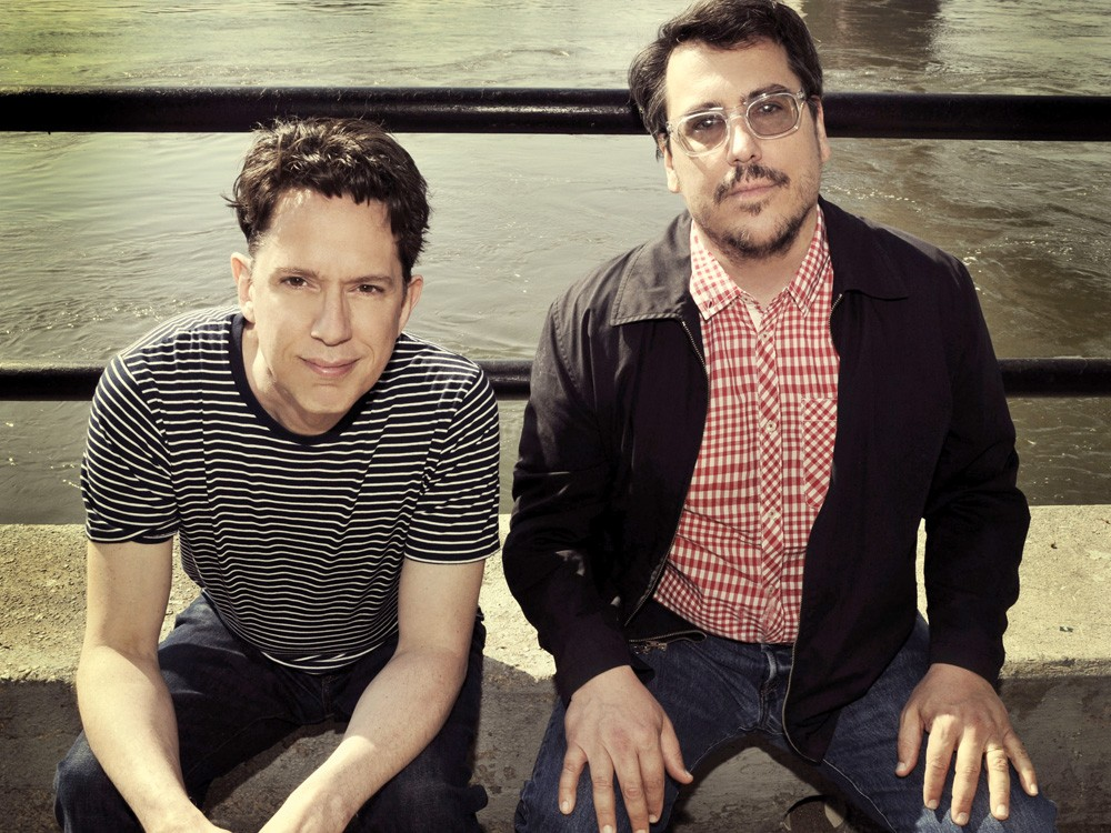 A Tale of Two Johns: John Linnell (left) and John Flansburgh