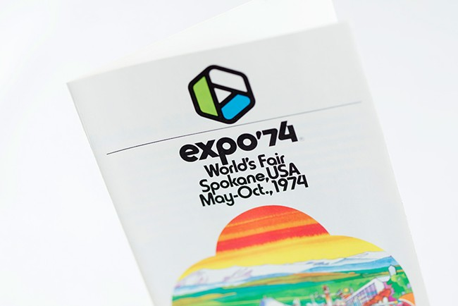 A world's fair booklet with information about Expo. - YOUNG KWAK