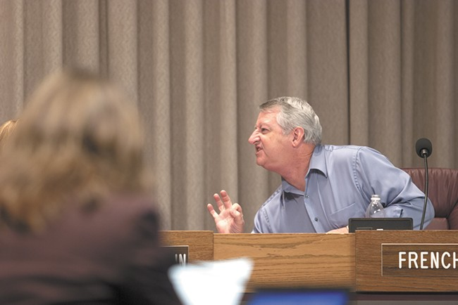 Al French, as a councilman in 2009, was cleared twice by the city's ethics committee of any wrongdoing.