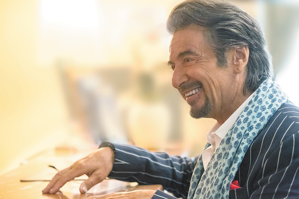 Al Pacino delivers one of his best performances in recent memory as an aging rock star.
