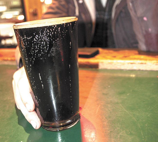 All drafts, even Pipeline Porter (above), are $2 until 9pm on Fridays at Mootsy's. - SARAH WURTZ