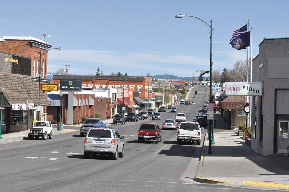Along with a quilting store, the downtown of tiny Grangeville, Idaho, features a store that still rents VHS tapes. - DAVID RAUZI