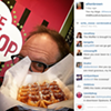 Alton Brown ate his way around Spokane this weekend