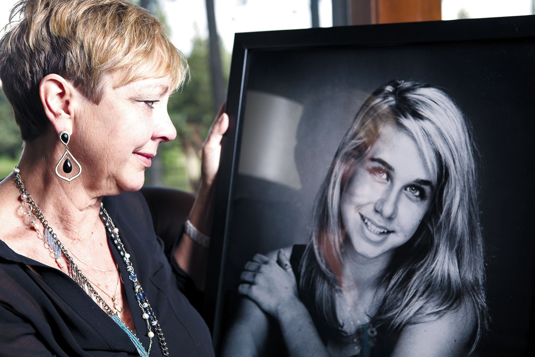 Alyson Hieber died in 2009, but her mom, Debbie, is keeping her story alive in hopes of bringing more treatment options to the Inland Northwest. - STEPHEN SCHLANGE