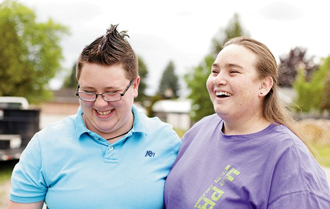 """Amanda Gunn and Amanda Hackworth plan to marry in Idaho in August if a judge's recent ruling is upheld. If not, they'll travel to Spokane to say """"I do."""" - YOUNG KWAK"""