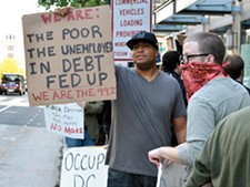 An Occupy rally in Washington, D.C. - CHRIS WIELAND