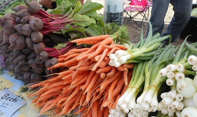 All fresh and all local. - LIBERTY LAKE FARMERS MARKET FACEBOOK