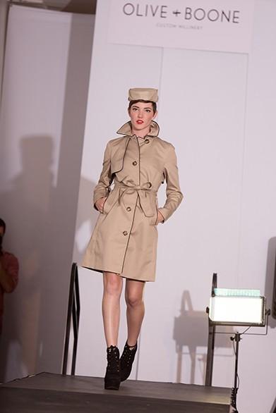 Ariel St. Clair walks the runway. - YOUNG KWAK