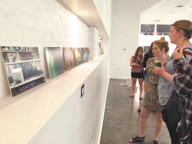 Art shows: they can happen anywhere