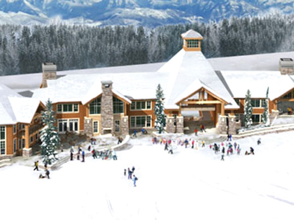 As part of an overall expansion plan, Mt. Spokane envisions a new Lodge 2. - BSA ARCHITECTS RENDERING